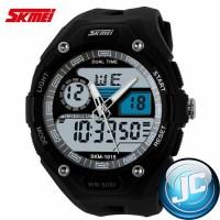 SKMEI Waterproof Jam Tangan Analog Digital 1015 White/Black
