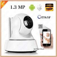 Baby Monitor Camera / Wireless IP Camera IPCAM 1.3MP HD960p Onvif CCTV