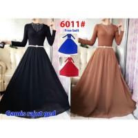Gamis Muslim Maxi Rajut 6011/ Baju Panjang / Baju Muslim / Gamis Impor