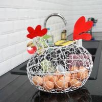 Keranjang Telur Ayam D PUTIH / XXL PUTIH muat untuk 22-25 telur(1,5kg)