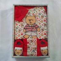 Baby Gift Set Bear - Soccer Dribble