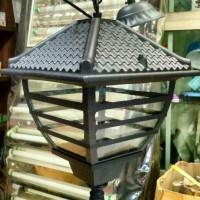 Lampu Gantung Teras Klasik Minimalis hias Model Rumah genteng