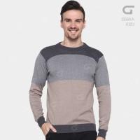 Jual Sweater Rajut Pria Gomuda - Zebra Kizu Murah