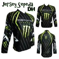 """The Monster"" Baju Jersey Sepeda Downhill Mantap"