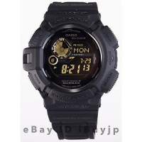 Casio G-Shock GW-9300GB-1JF Black & Gold Series MUDMAN Atomic Solar Wa