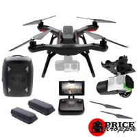 3DR Solo Smart Drone BackPack Bundle with Gimble 1 Extra Battery