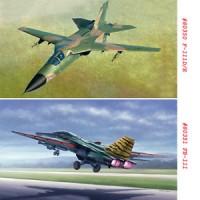 HobbyBoss 80350 80351 1/48 F-111D/E FB-111 Aardvark Boomer Aircraft M