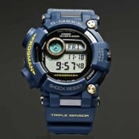 New CASIO G-SHOCK Master of FROGMAN NAVY BLUE GWF-D1000NV-2JF SolarJ A