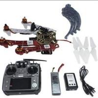 Full Set RC Drone 4-axis Aircraft Kit GPS APM Camera Gimbal PTZ F02192