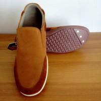Jual Sepatu Pria   Casual Slip On   Sepatu Cibaduyut Bandung   199-LFS 668 Murah
