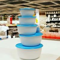 Jual IKEA REDA Food Container / Kotak Makanan Set 5 pcs Murah