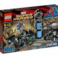 lego 6873 super heroes spider man's doc ock ambush