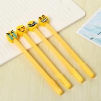 Pulpen Gel Emoticon Kuning 0.5mm