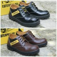 Sepatu Boots Safety Caterpillar Sintetis Pendek BG-03