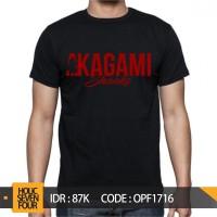 KAOS ONE PIECE - AKAGAMI SHANKS
