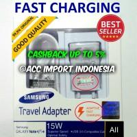 Jual Fast Charging 2A Samsung Galaxy Original Charger Note 4 5 S6 7 Garansi Murah