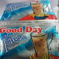 good day coffee freeze mocafrio 1renceng isi 10sachet @30gram