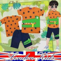 Jual baju anak laki-laki london kids crocodile Murah