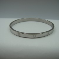 gelang cartier silver love series