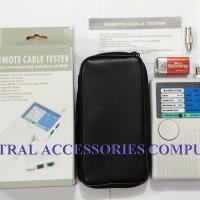 Jual MULTI LAN TESTER REMOTE CABLE TESTER RJ-45 / RJ-11 / USB / BNC Murah