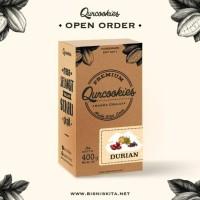 Jual Qurcookies - Kurma Coklat Isi Durian Murah