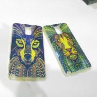 Case Samsung Note 4 Soft Jacket tribal lucu