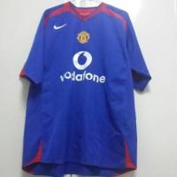 Jual original jersey manchester united 05/06 away Murah