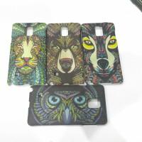Case Samsung Note 4 hard case tribal berkualitas