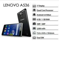 HP LENOVO A536 8GB RAM 1GB GARANSI 1 TAHUN