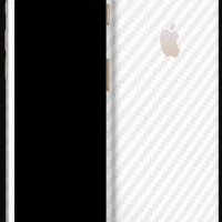 dBrand iPhone 7+ Skin - White Carbon (Back Cover)