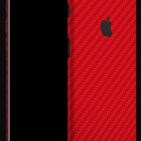 dBrand iPhone 7+ Skin - Red Carbon (Back Cover)