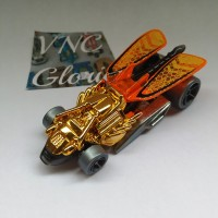 Hot Wheels Draggin' Tail GOLD Double Jump Duel 5-PACK *Loose