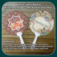 Kipas Souvenir Custom Bulat (kipas promosi)