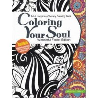 Jual Adult Happiness Therapy Coloring Book - Mary Balerina Murah