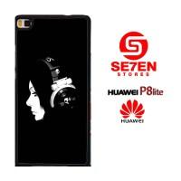 Casing HP HUAWEI P8 LITE Music Girl Custom Hardcase Cover
