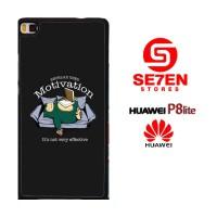 Casing HP HUAWEI P8 LITE Pokemon snorlax motivation Custom Hardcase Co