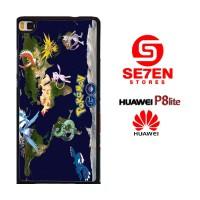 Casing HP HUAWEI P8 LITE pgo pokemon go Custom Hardcase Cover