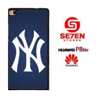Casing HP HUAWEI P8 LITE Ny yankees Custom Hardcase Cover