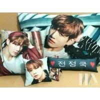 Bantal Foto Kpop EXO BTS (Bantal + Sarung bantal)