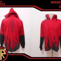 Hokage Red Jacket - Jaket Anime Jepang Naruto Shippuden