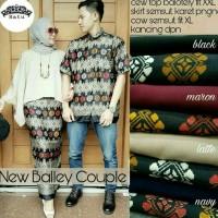 Jual CPL BALLEY 01/couple kebaya/kebaya kutubaru/couple batik/couple muslim Murah