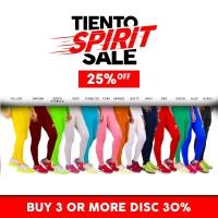 Tiento Unisex Baselayer Compression Tight Legging Long Pants Olahraga