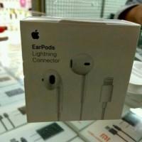 Jual EARPHONE EARPOD HANDSFREE HEADSET IPHONE 7 7+ PLUS ORIGINAL APPLE 100% Murah