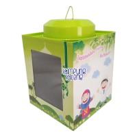 Kaleng Kerupuk Mini Edisi Lebaran Ukuran 11 x 13 cm