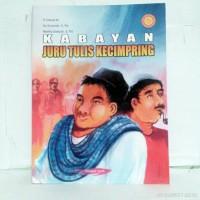 Buku Cerita Legenda Versi Bahasa Jawa KABAYAN JURU TULIS KECIMPRING