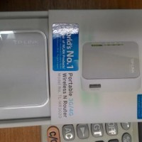 tp link mr 3020 portable wireless router .usb modem jadi wifi