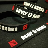 Gelang GGWP EZ NOOBS || Dota Aksesoris Gaming
