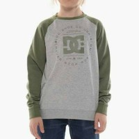 DC Shoes - Rebuilt Crew Raglan - Crew Neck Sweater