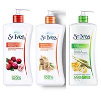 ST Ives Body Lotion Original 621ml - Oatmeal / Cranberry / Vitamin E