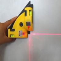 Laser Line Projection Alat Ukur Siku Vertical Horizontal Sudut 90 Y6